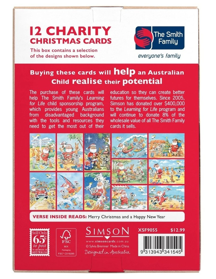The Smith Family Charity Christmas Boxed Cards - 10 Pack image 5
