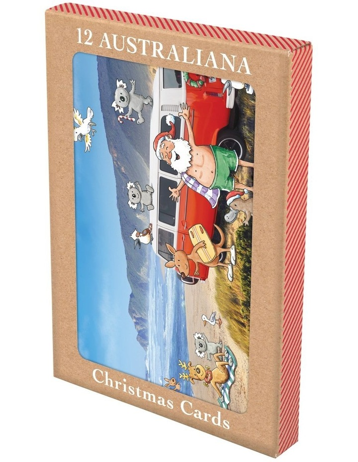 Galbraith Australiana Scenic Boxed Christmas Cards, Multiple Designs - 12 Pack image 1