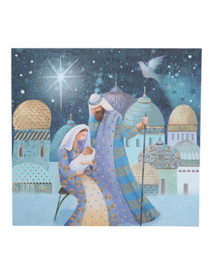 Ovarian Cancer Research Foundation Charity Christmas Boxed Cards, Mary & Joseph - 10 Pack image 2