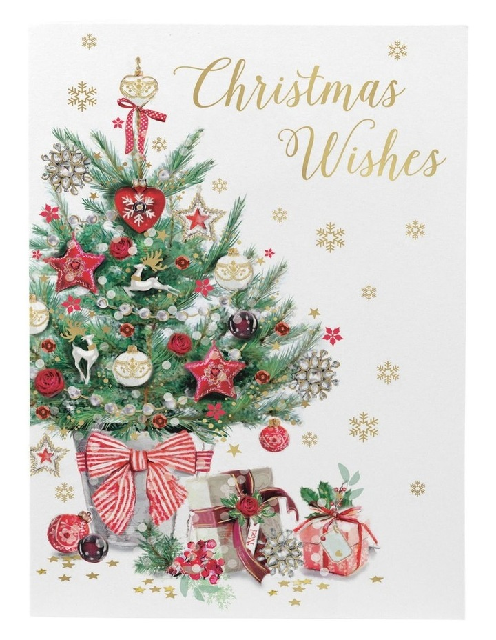 Christmas, Charity, Red Kite, Traditional Christmas tree, Boxed cards image 2