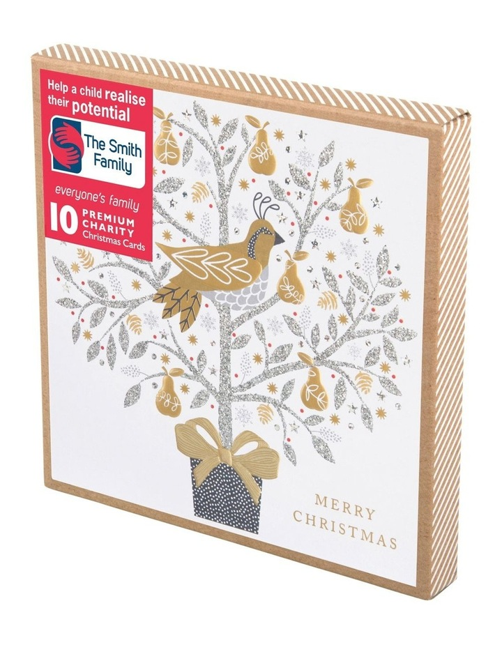 Christmas, Charity, The Smith Family, Partridge in a pear tree, Boxed cards image 1