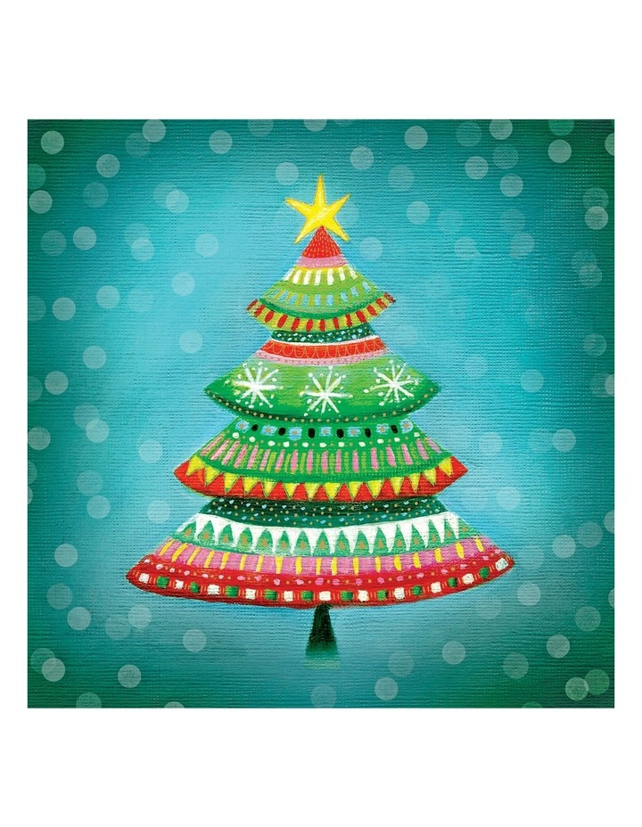 Care Australia Charity Christmas Boxed Cards, Bright Mosaic - 10 Pack image 1