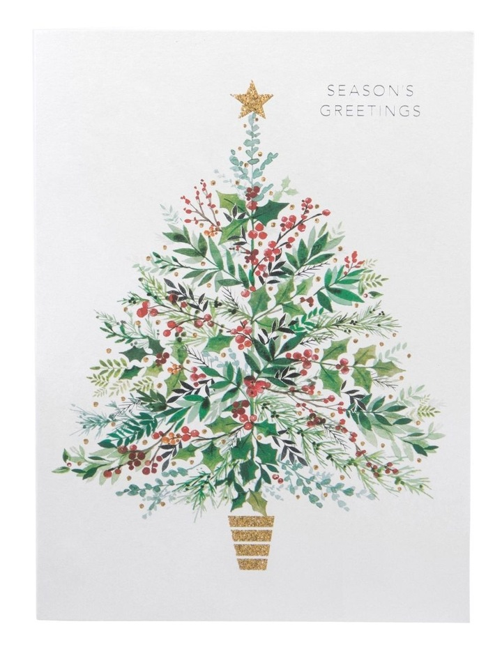 Christmas, Charity, Prostate Cancer Foundation of Australia, Holly Christmas tree, Boxed cards image 2