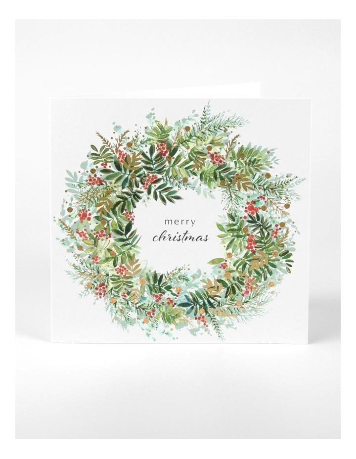 Charity Christmas Cards - Pretty Foliage image 2