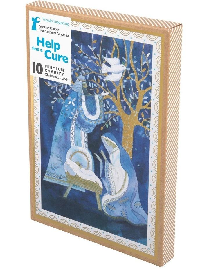 Christmas, Charity, Prostate Cancer Foundation of Australia, Indigo manger, Boxed cards image 1