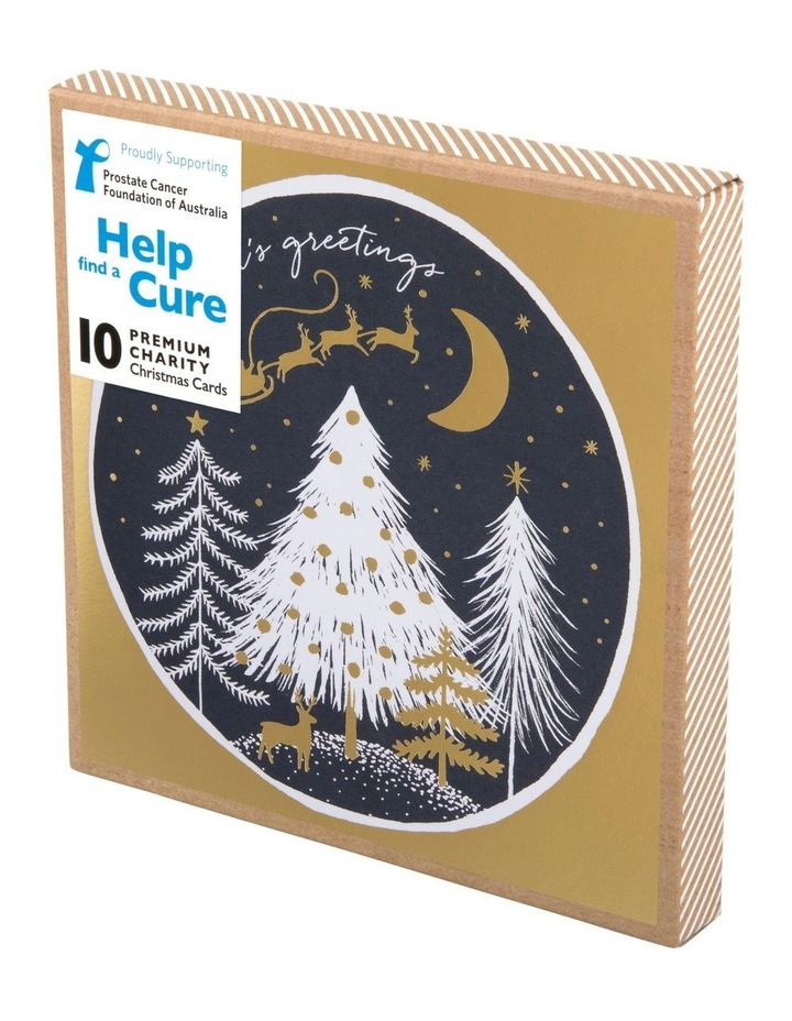 Christmas, Charity, Prostate Cancer Foundation of Australia, Midnight sky, Boxed cards image 1