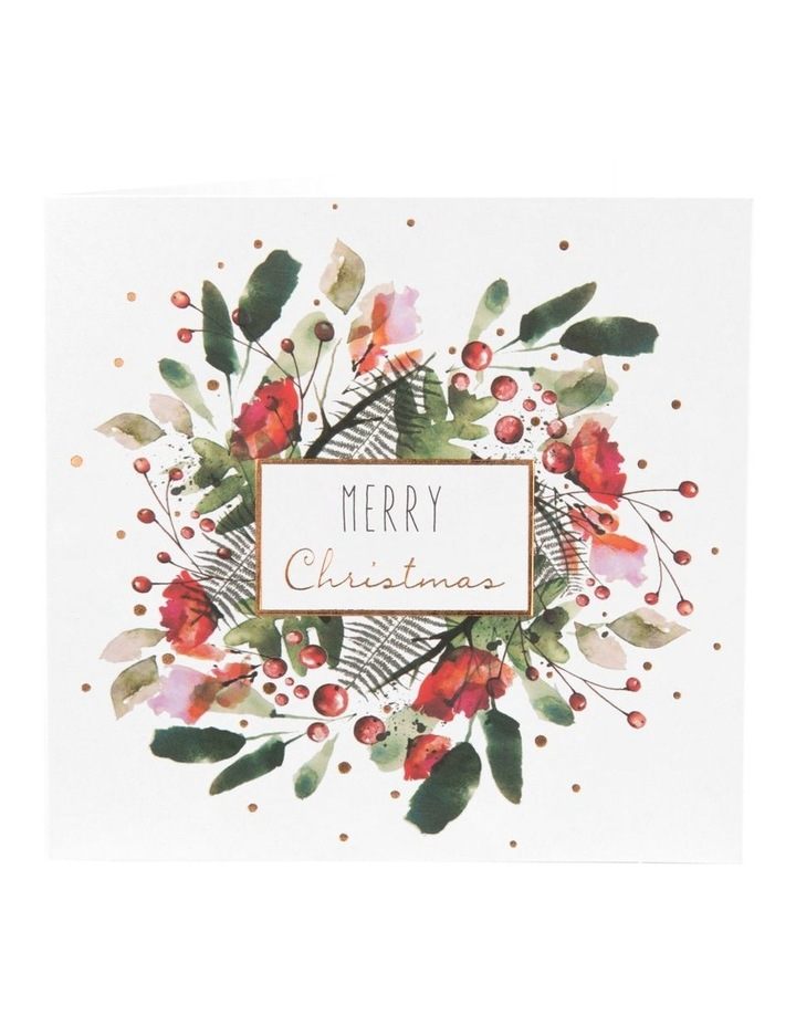 Christmas, Charity, Red Kite, Peony Rose Wreath Boxed cards image 2