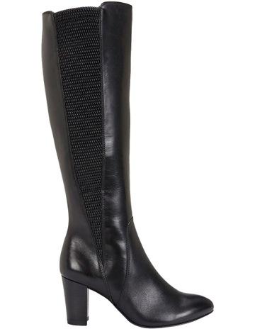 Jane Debster Knight Black Hi-Shine Boot dbb73a09757f