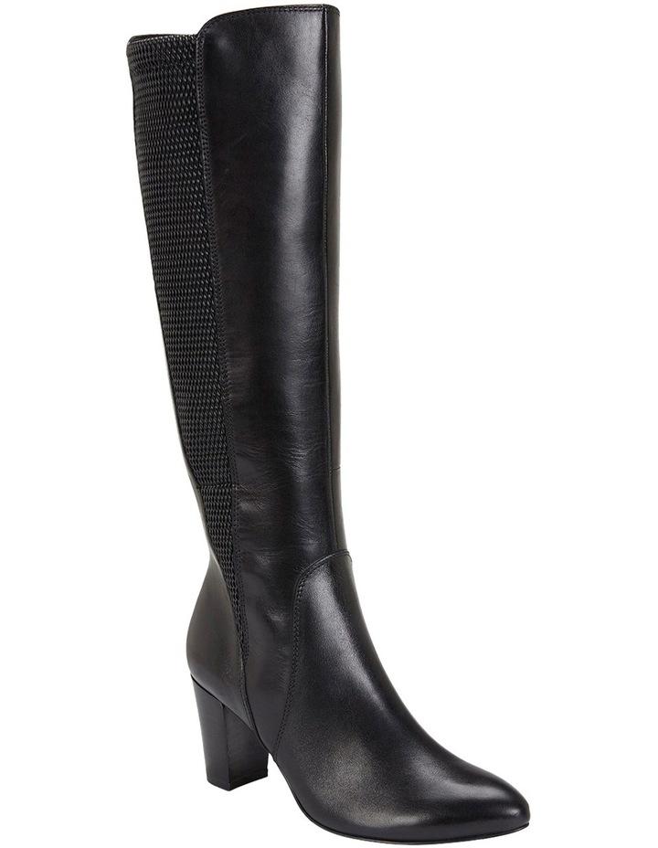 Knight Black Hi-Shine Boot image 4