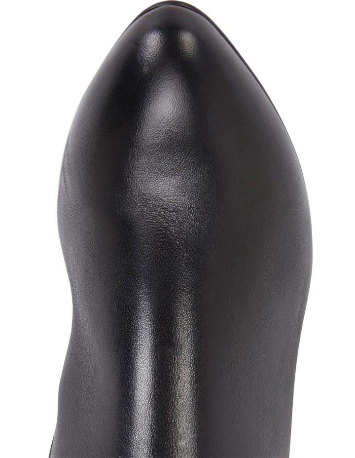 Knight Black Hi-Shine Boot image 6