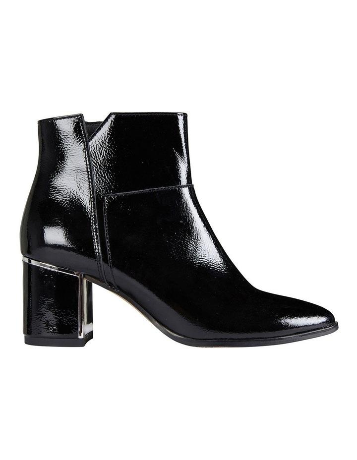 Mirage Black Crinkle Patent Boot image 1