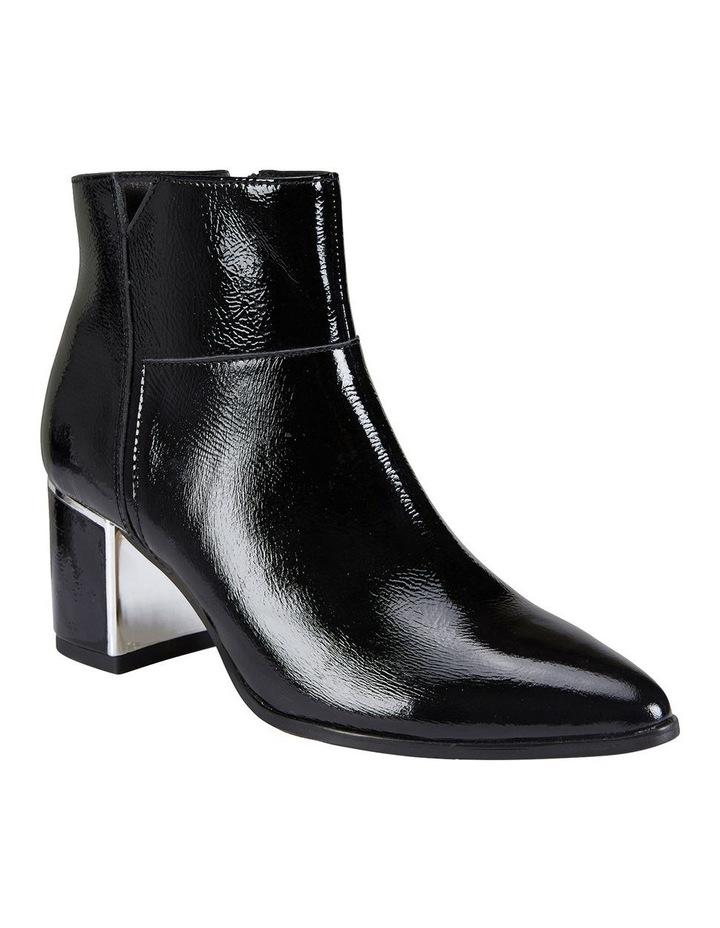 Mirage Black Crinkle Patent Boot image 2