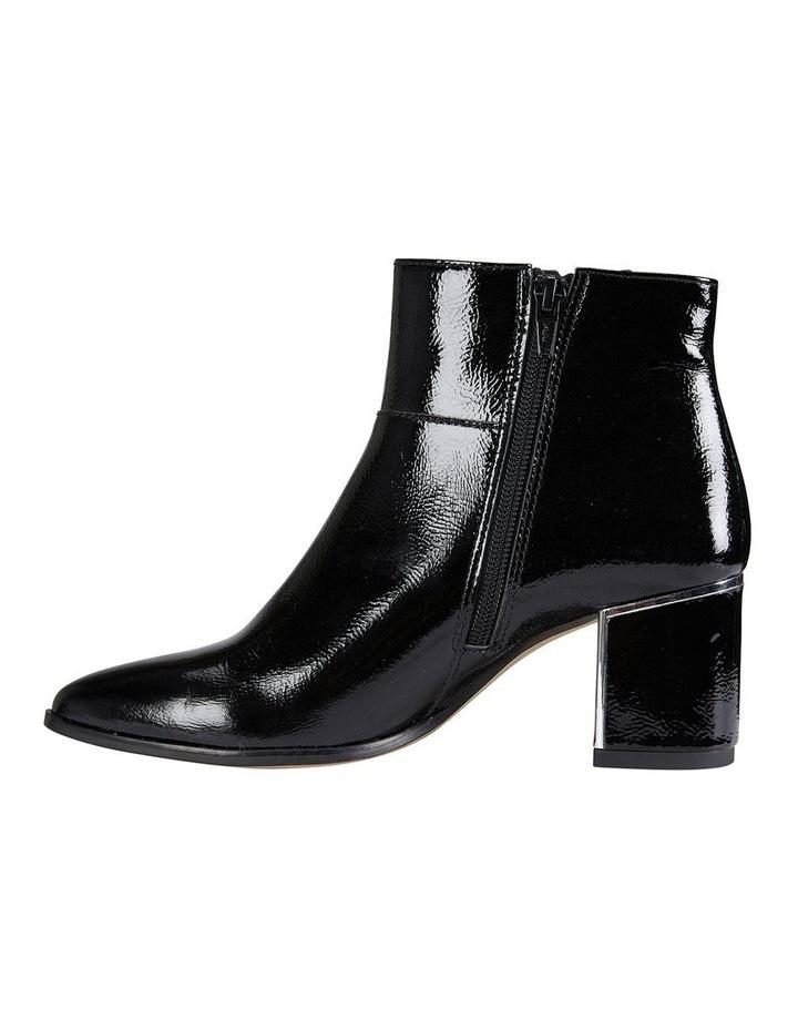 Mirage Black Crinkle Patent Boot image 3