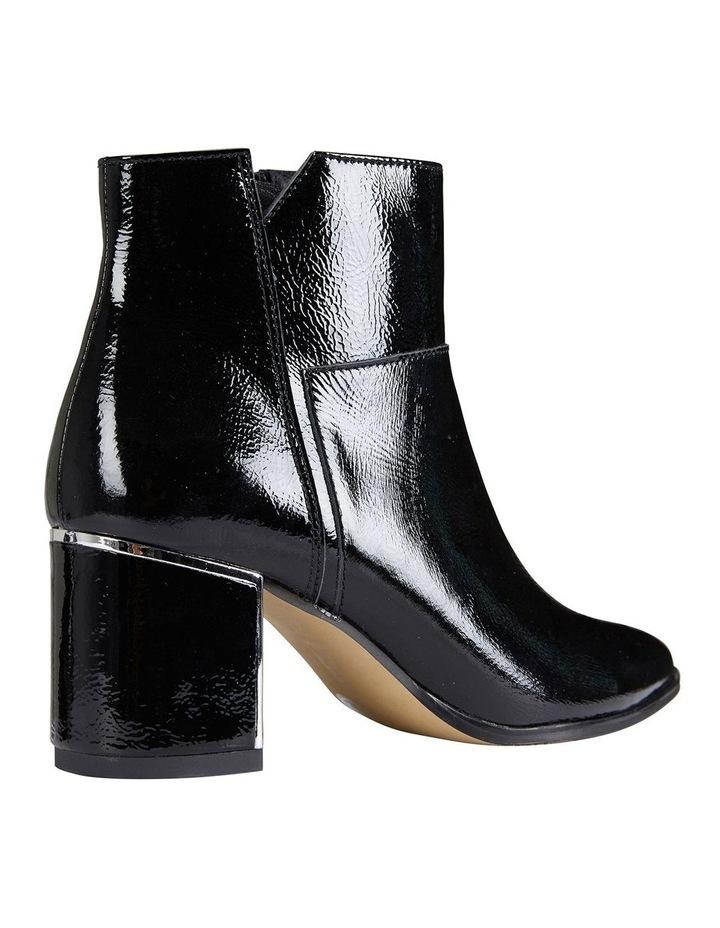 Mirage Black Crinkle Patent Boot image 4