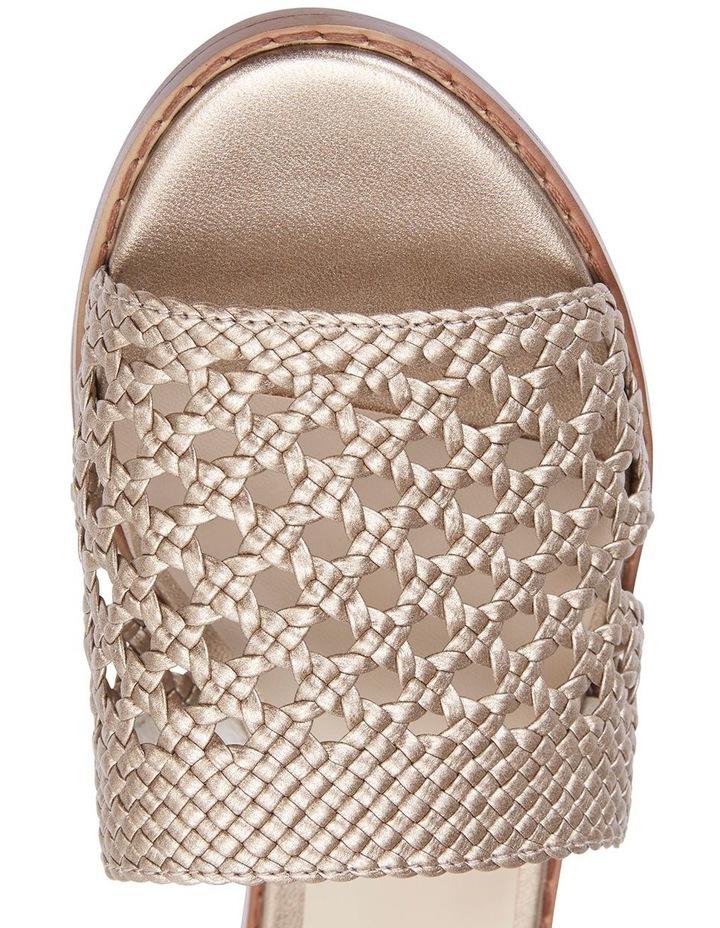 Jane Debster BECKY Bronze Metallic Sandal image 7