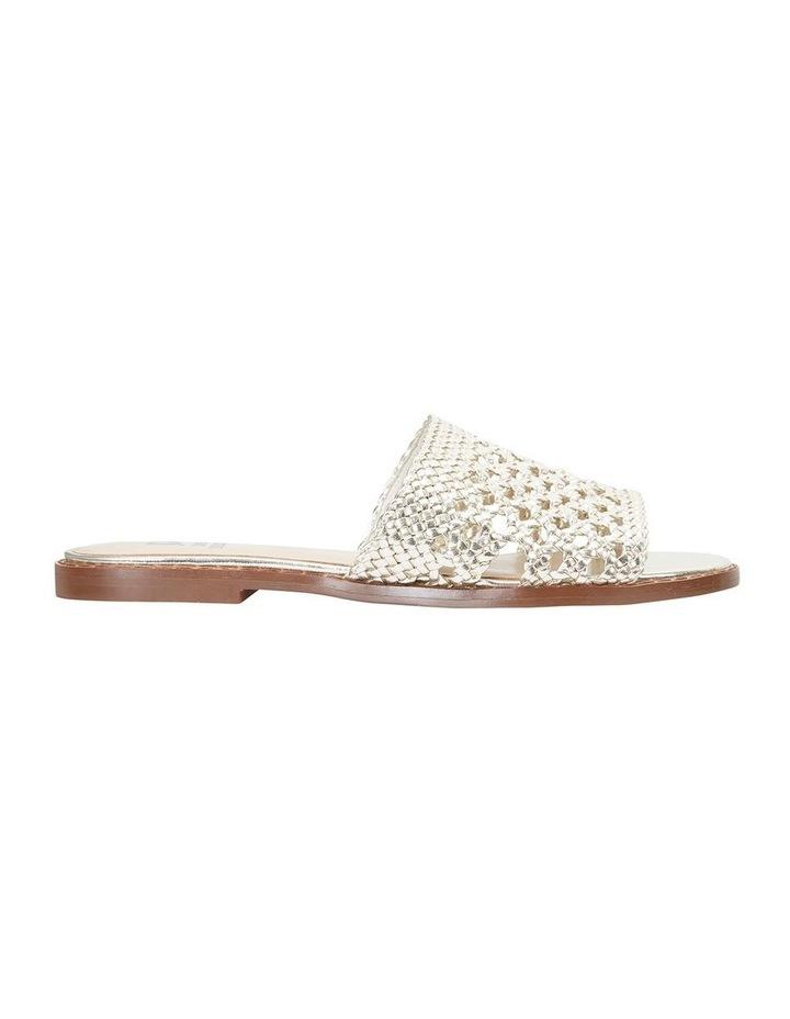 Jane Debster BECKY Gold Metallic Sandal image 1