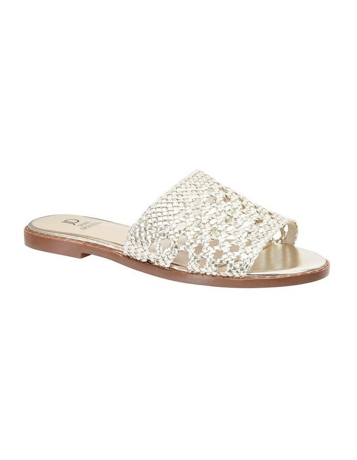 Jane Debster BECKY Gold Metallic Sandal image 2
