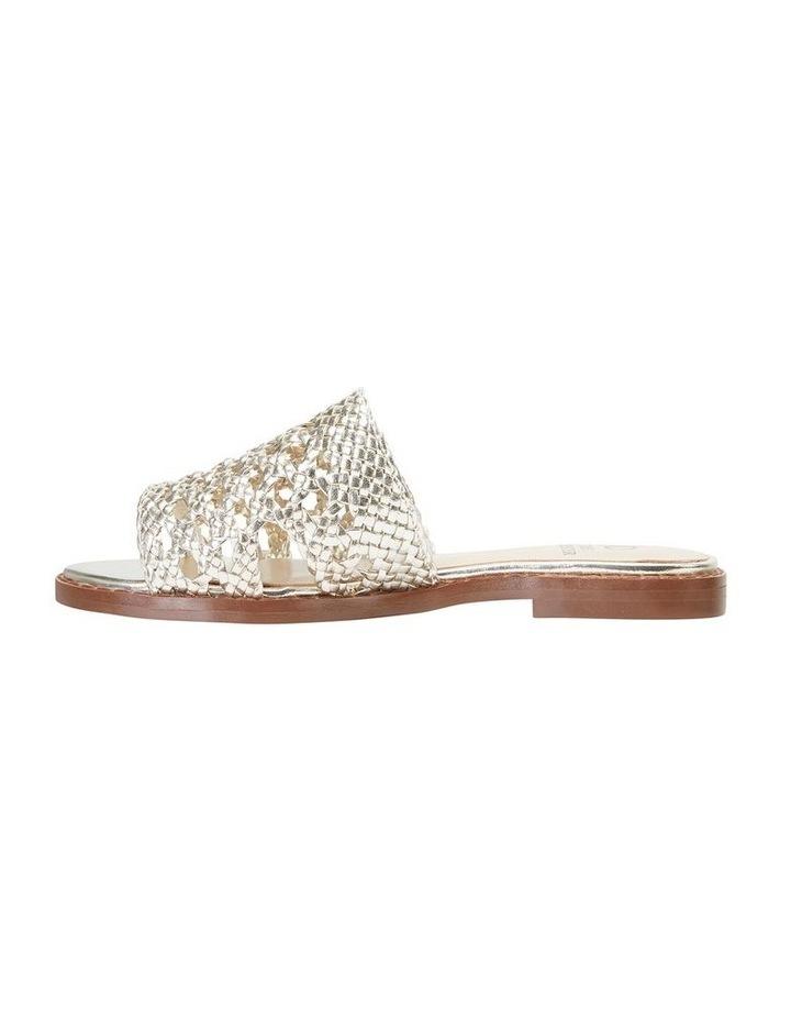 Jane Debster BECKY Gold Metallic Sandal image 3