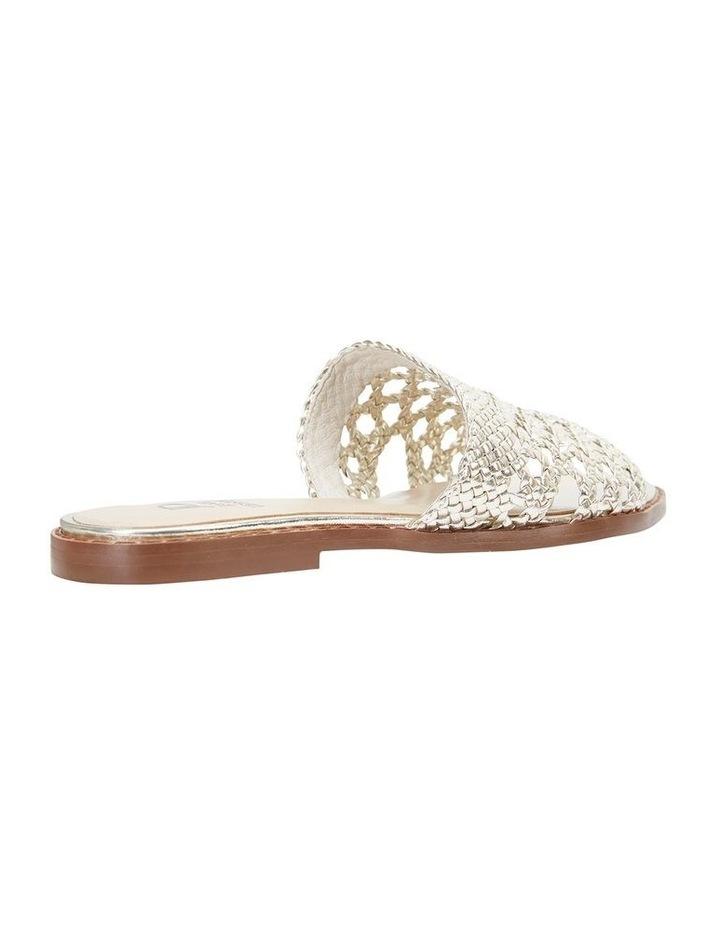 Jane Debster BECKY Gold Metallic Sandal image 4