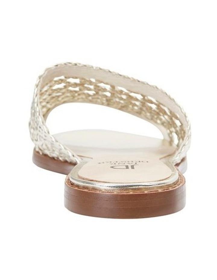 Jane Debster BECKY Gold Metallic Sandal image 5