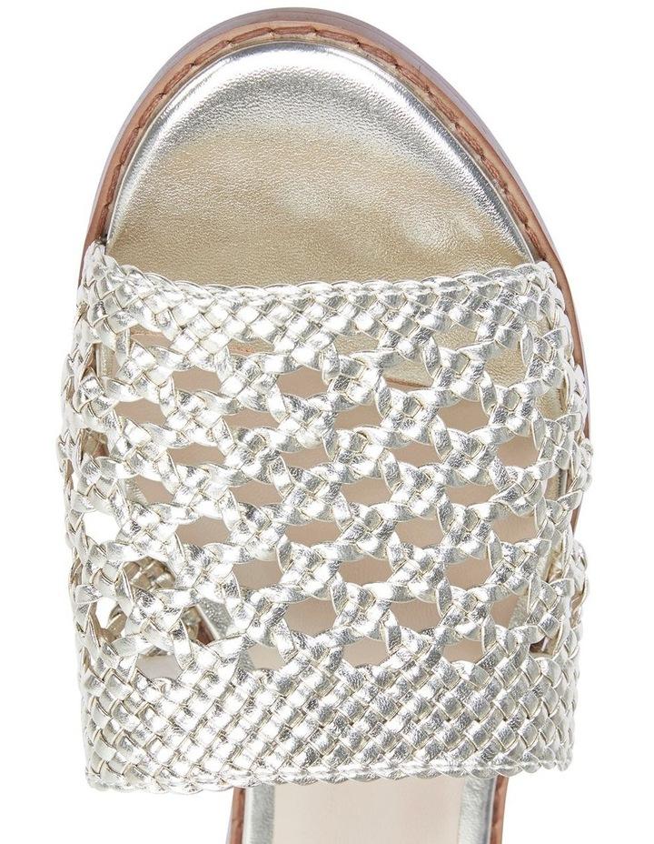 Jane Debster BECKY Gold Metallic Sandal image 7