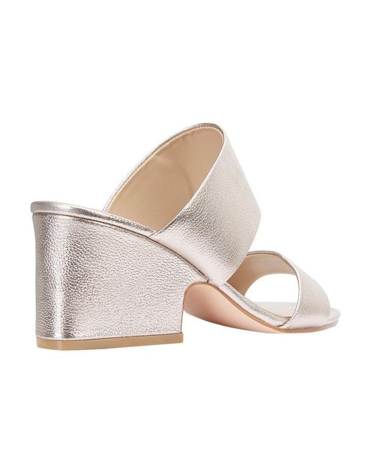 Jane Debster MARCELLA Soft Gold Crush Sandal image 4