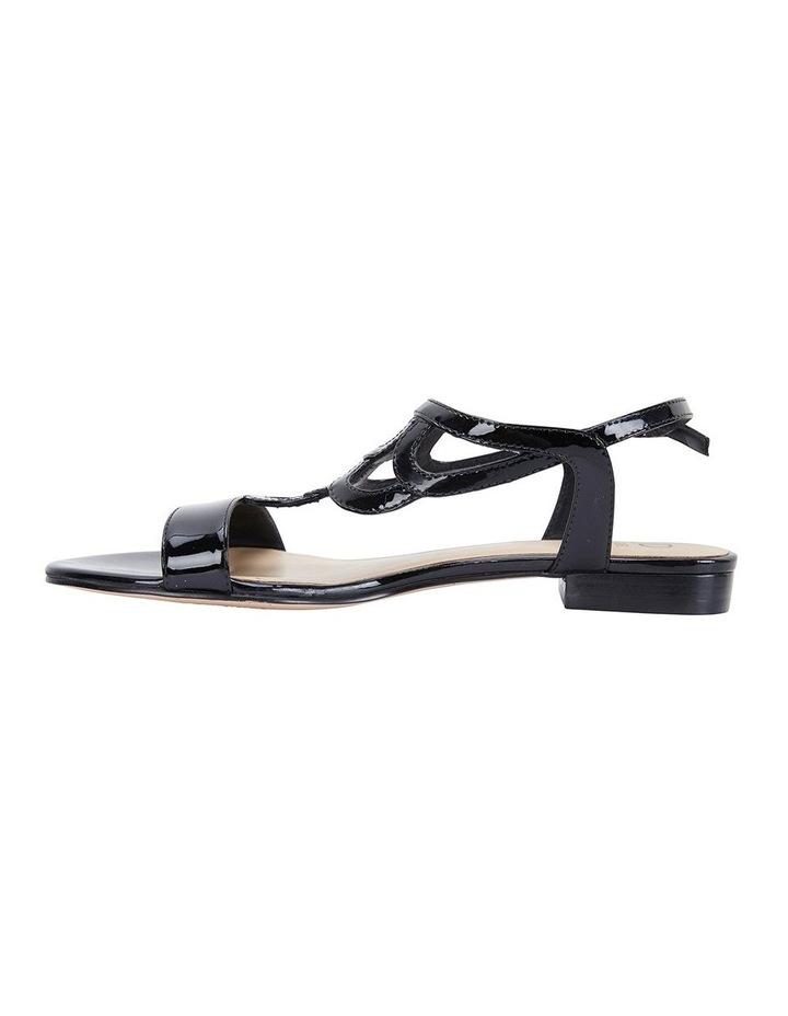 Jane Debster TAHITI Black Patent Sandal image 3