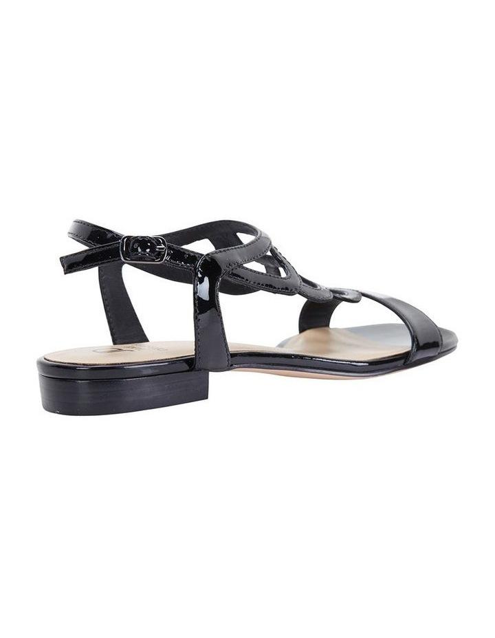 Jane Debster TAHITI Black Patent Sandal image 5