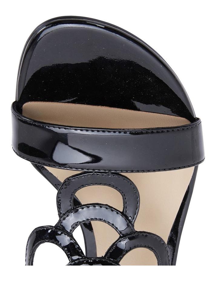 Jane Debster TAHITI Black Patent Sandal image 7