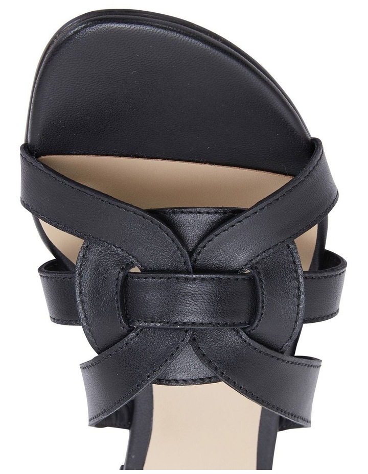 Jane Debster TEGAN Black Glove Sandal image 7