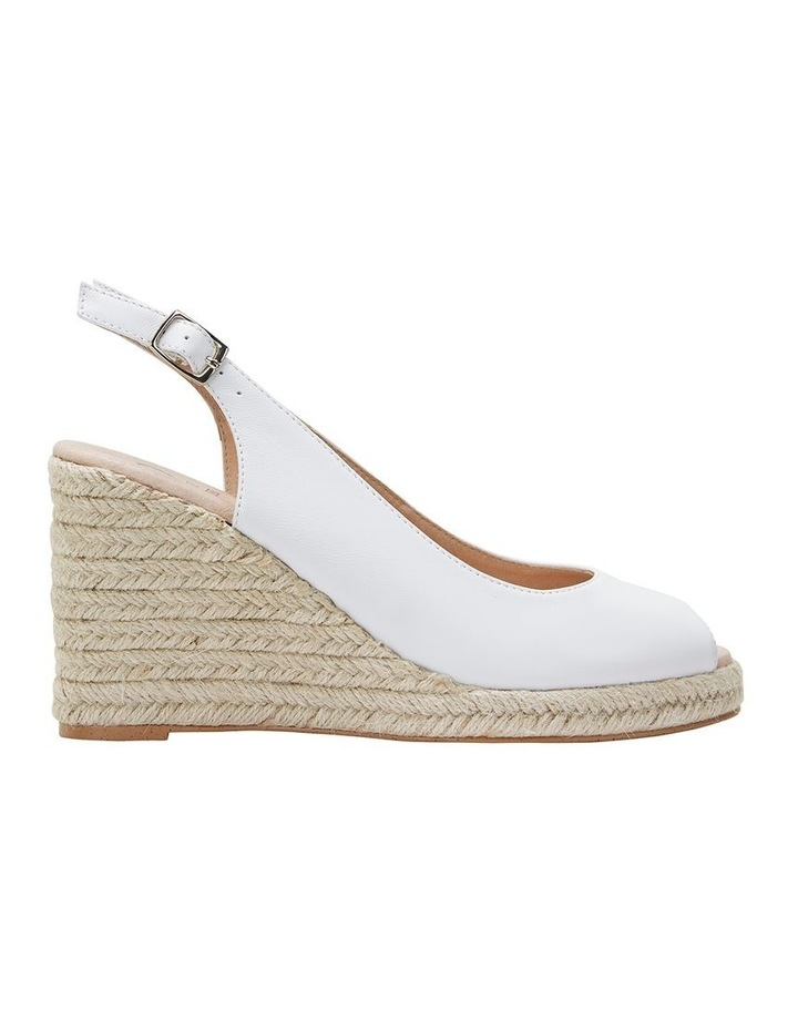 Jane Debster DAKOTA White Glove Sandal image 1