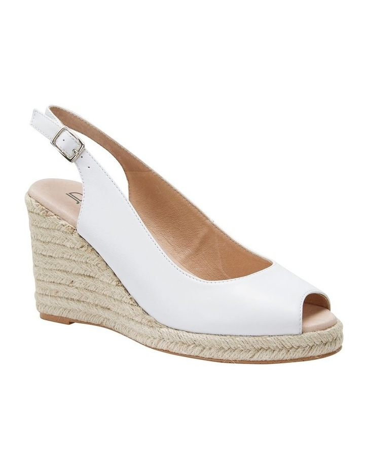 Jane Debster DAKOTA White Glove Sandal image 2