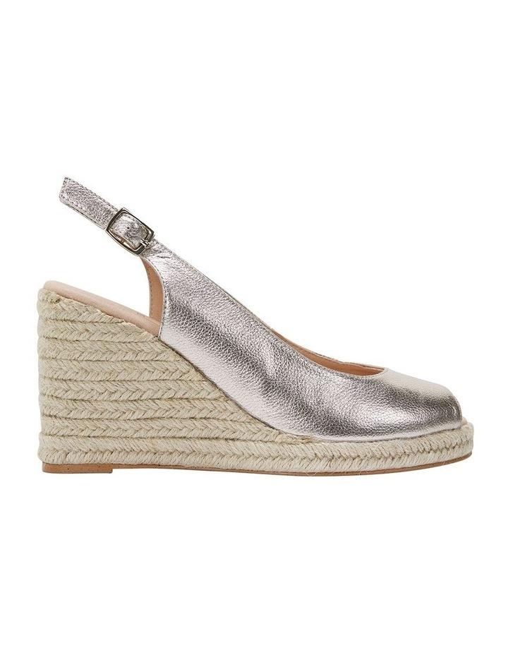 Jane Debster DAKOTA Soft Gold Metallic Crush Sandal image 1