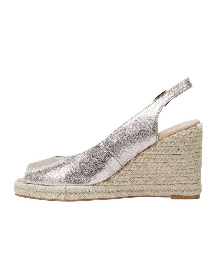 Jane Debster DAKOTA Soft Gold Metallic Crush Sandal image 3