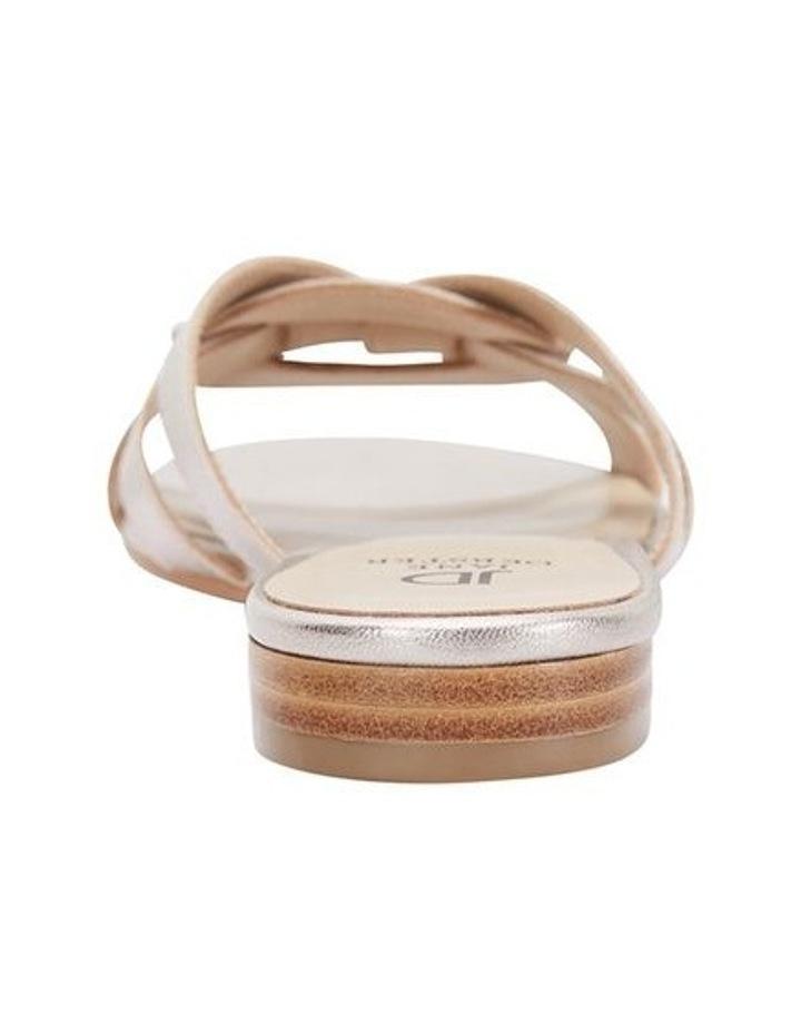 TEGAN Soft Gold Crush Sandal image 4
