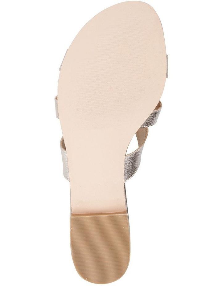 TEGAN Soft Gold Crush Sandal image 5