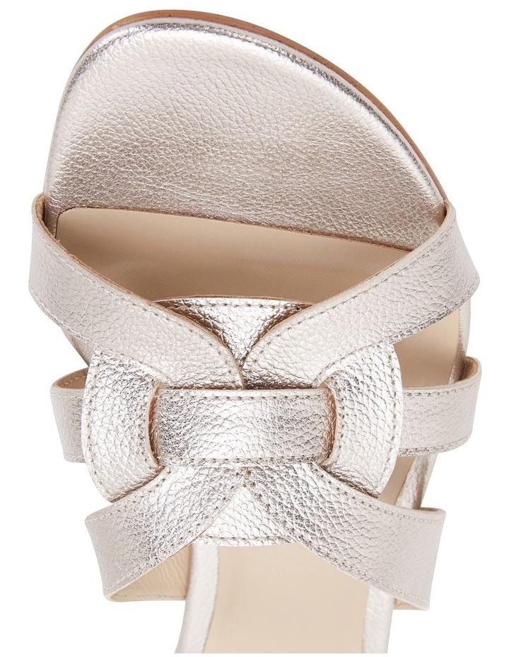 TEGAN Soft Gold Crush Sandal image 6