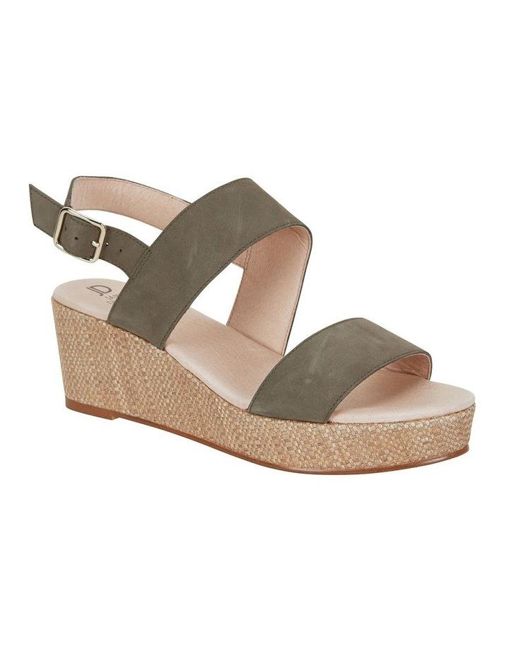Caitlin Khaki Nubuck Sandal image 1