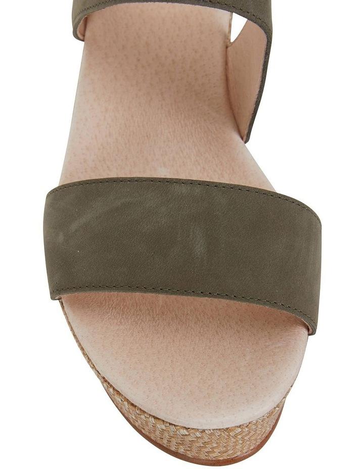 Caitlin Khaki Nubuck Sandal image 2