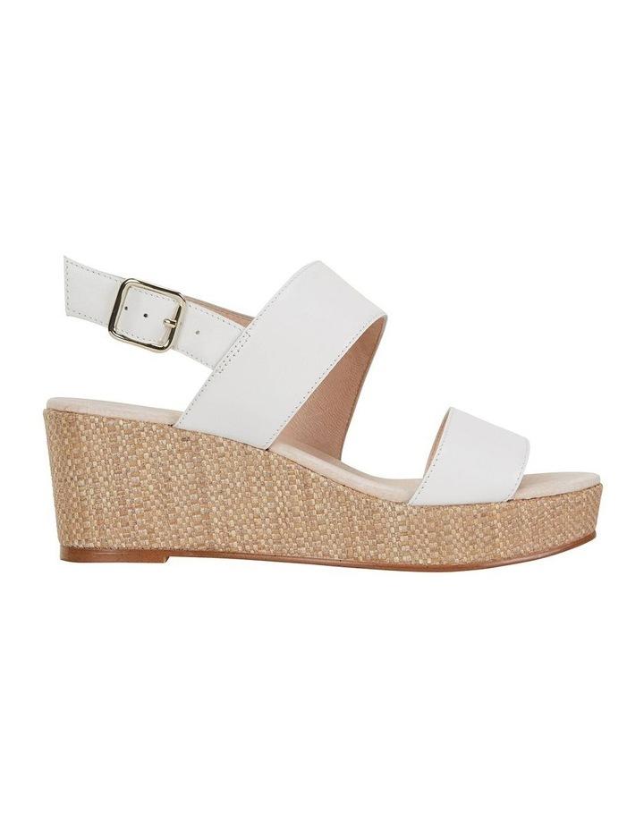Caitlin White Glove Sandal image 1