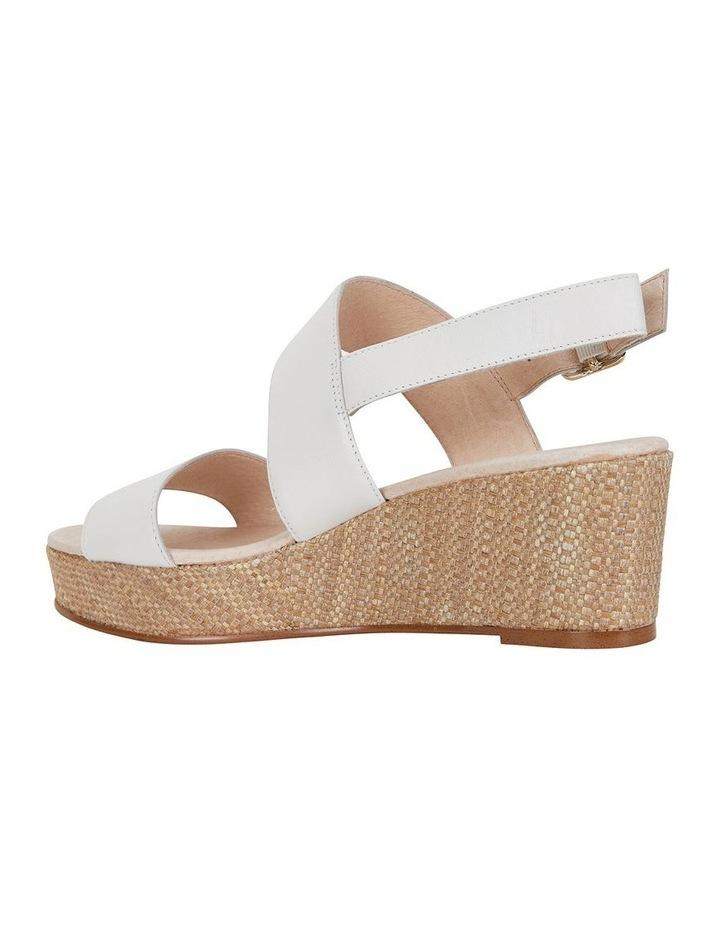 Caitlin White Glove Sandal image 2