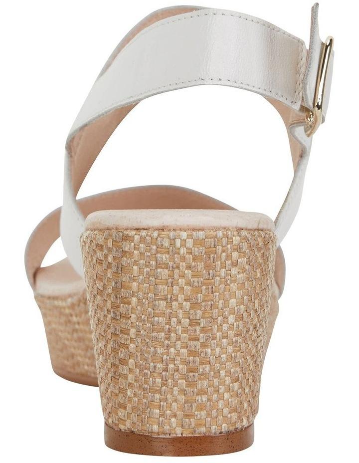Caitlin White Glove Sandal image 4