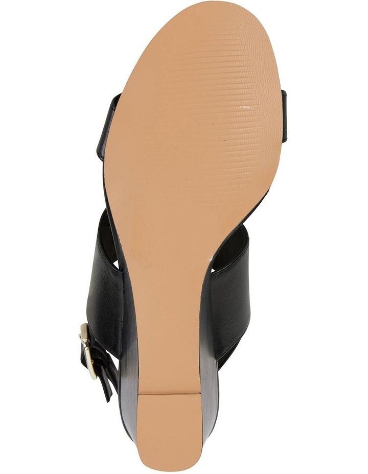 Diana Black Glove Sandal image 6
