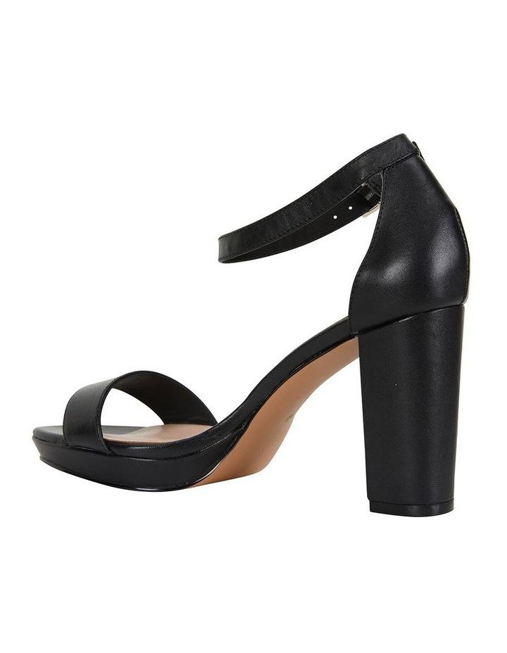 Lush Black Glove Sandal image 4