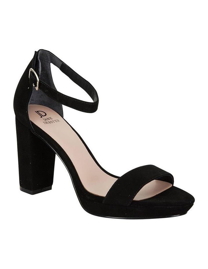 Lush Black Suede Sandal image 2