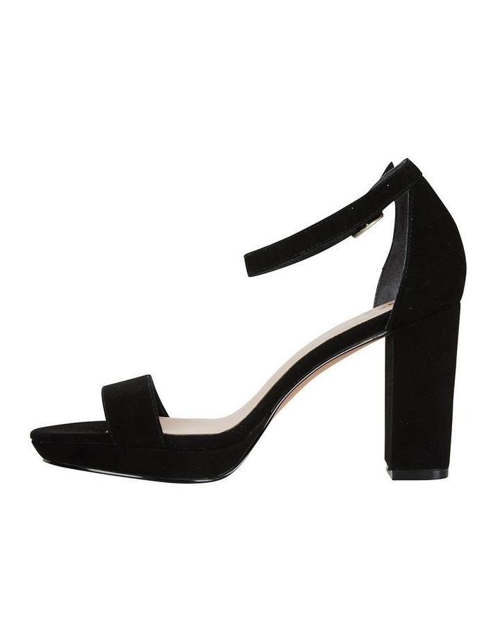 Lush Black Suede Sandal image 3