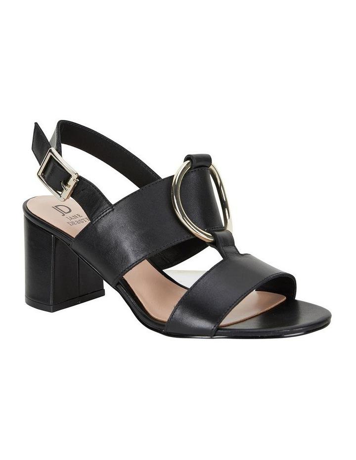 Obsess Black Glove Sandal image 2
