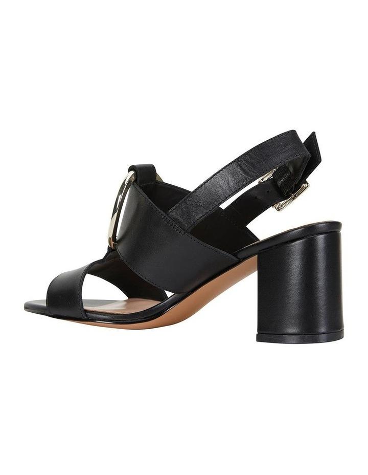 Obsess Black Glove Sandal image 4