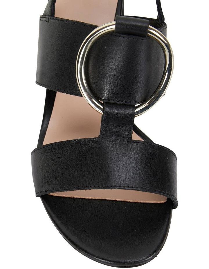 Obsess Black Glove Sandal image 5