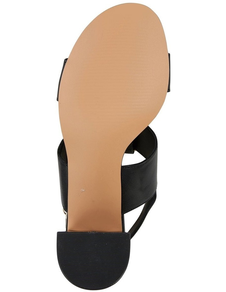 Obsess Black Glove Sandal image 6